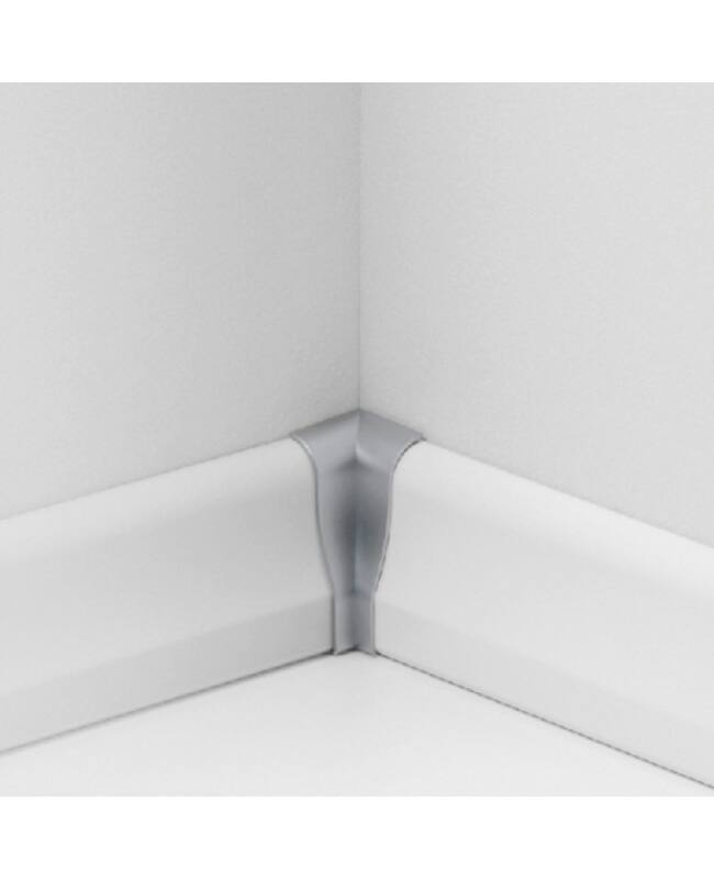 Sorolóelem SL4 belső sarok Típus 2 Alu szín, Parador Parketta