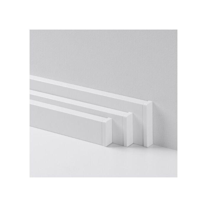 Sorolóelem Univerzális végzáró Típus 2 fehér szín, Parador Parketta