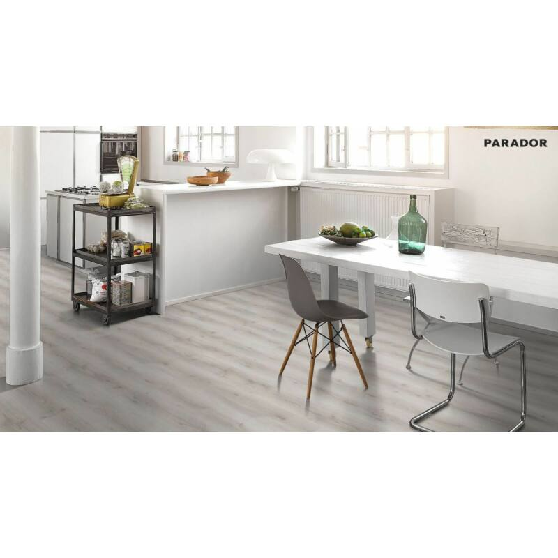 Laminált padló - Basic 600 - Oak Askada white limed
