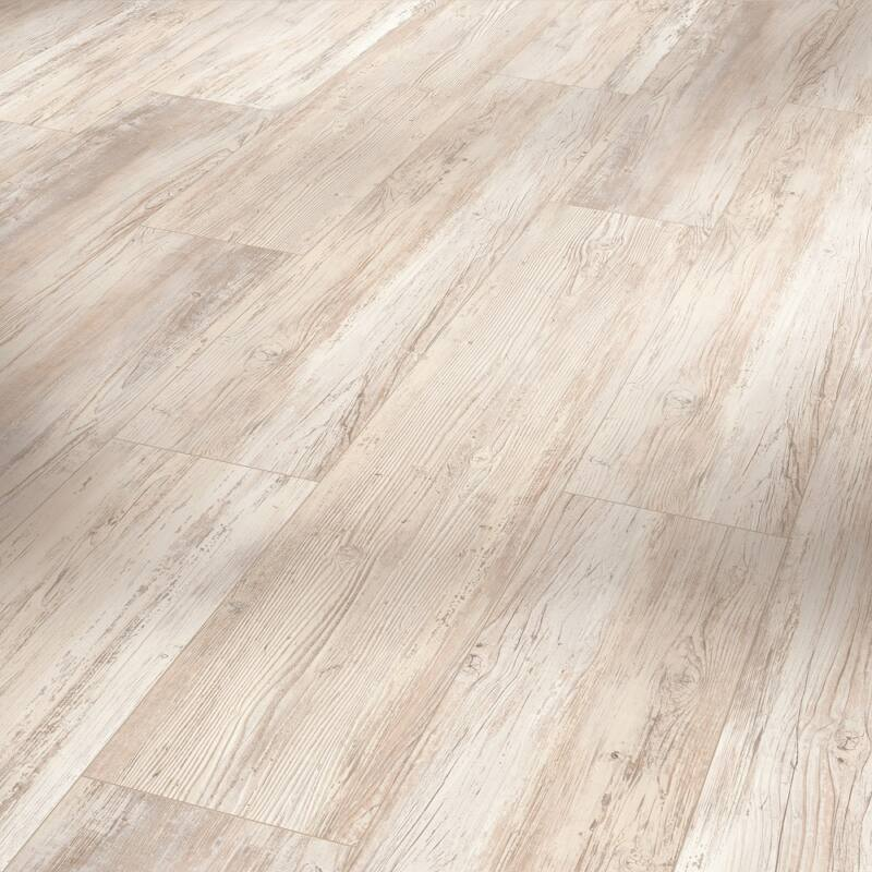 HDF Vinyl - Basic 30 - Pine scandinavian white