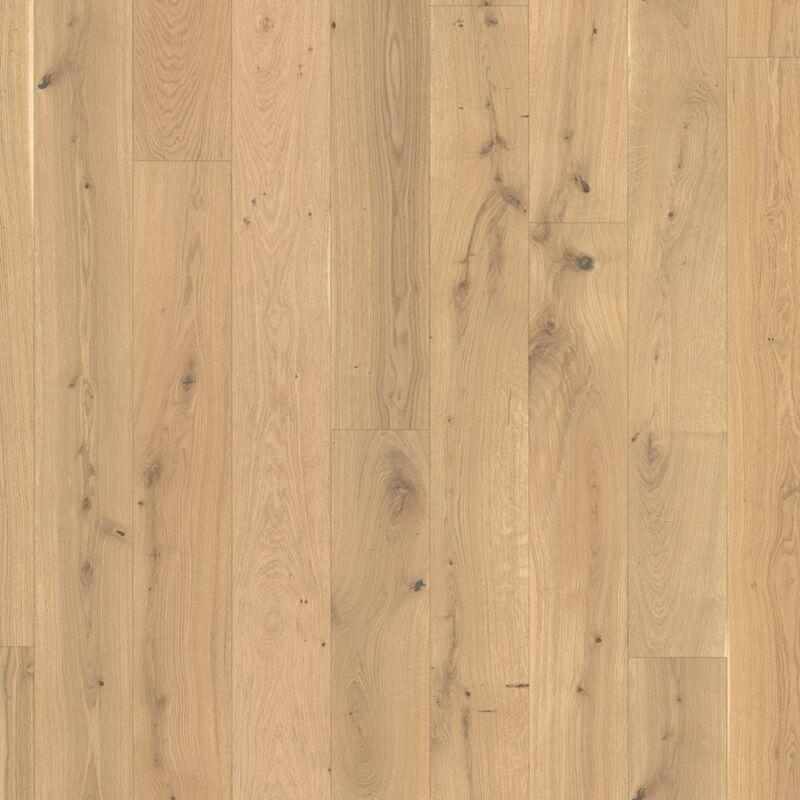Készparketta - Basic 11-5 - Oak brushed - fehér olajozott