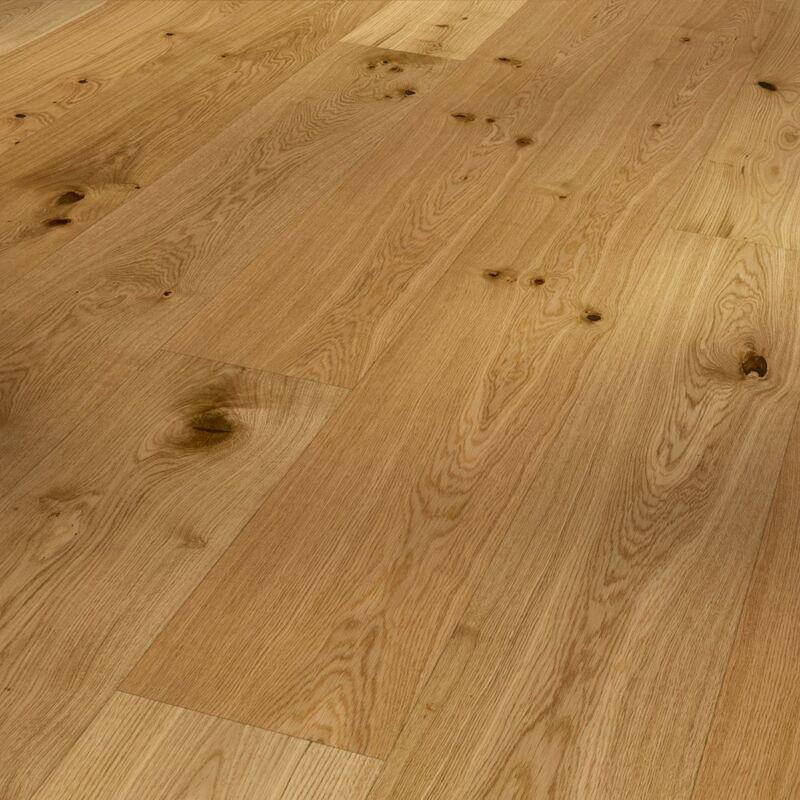 Készparketta - Basic 11-5 - Oak brushed - matt lakkozott