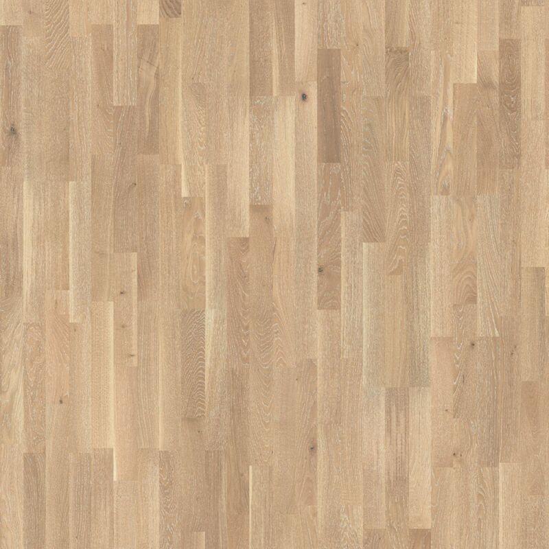 Készparketta - Basic 11-5 - Oak white pore - fehér matt lakkozott