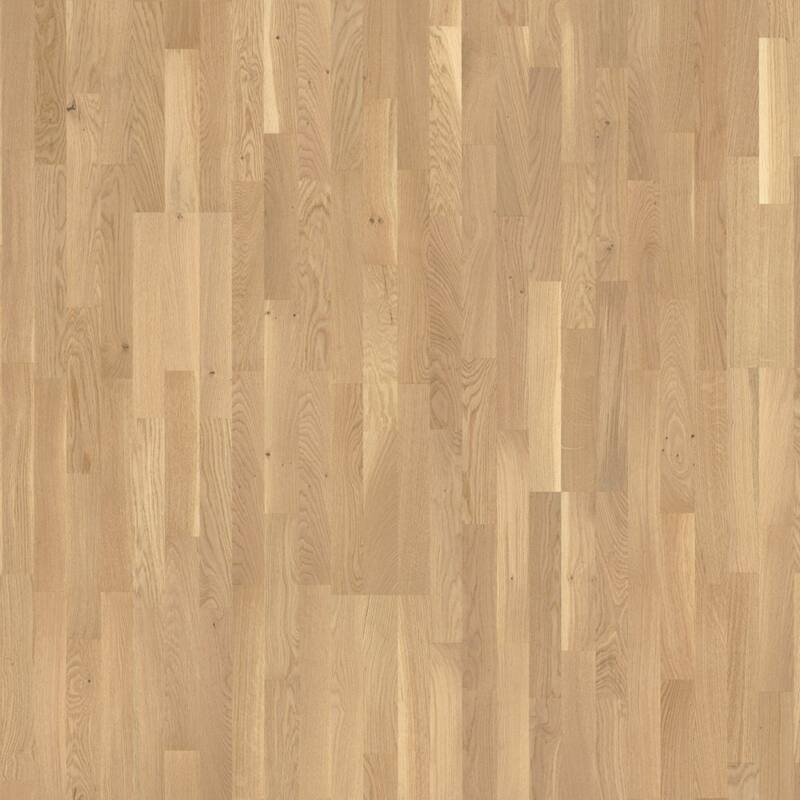 Készparketta - Basic 11-5 - Oak Pure - matt lakkozott