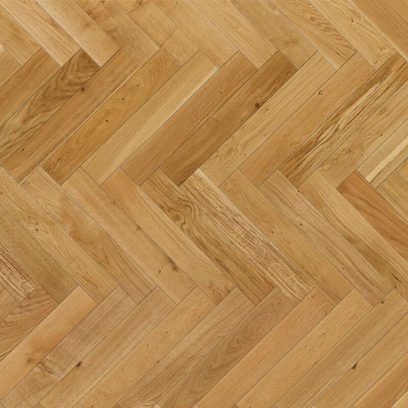Készparketta - Trendtime 3 - Oak  herringbone - matt lakkozott