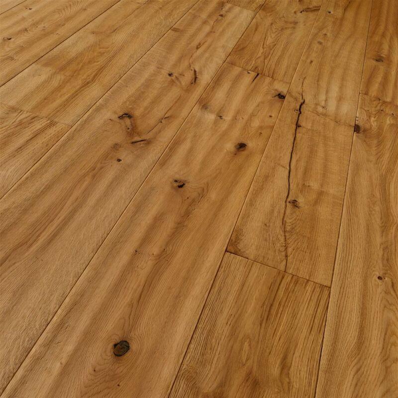 Készparketta - Trendtime 8 - Oak handscraped brushed - olajozott