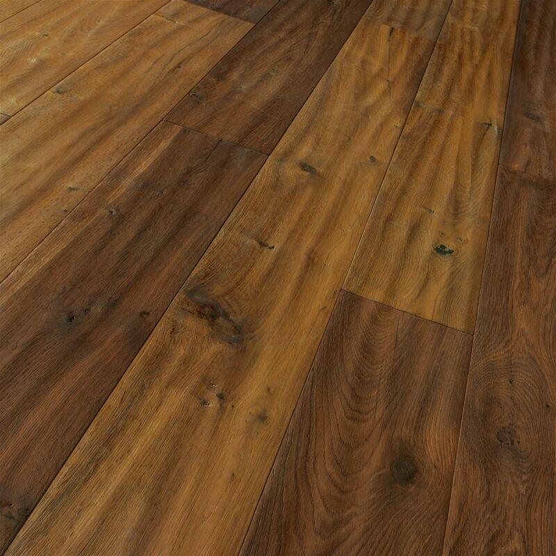 Készparketta - Trendtime 8 - Oak smoked handscraped brushed - olajozott