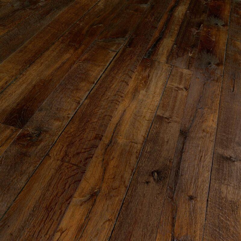 Készparketta - Trendtime 8 - Oak smoked tree plank - olajozott