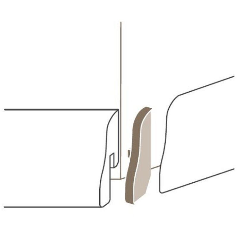 Sorolóelem - SL4 külső sarok Típus 1 Alu szín