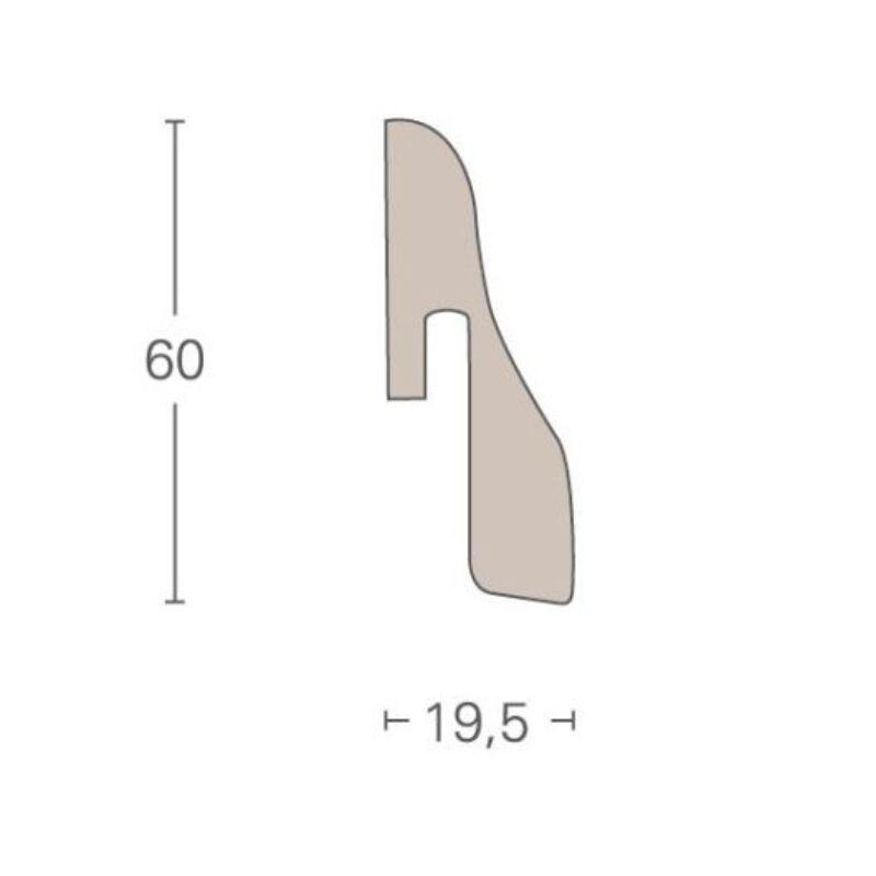 Dekor szegőléc - SL4