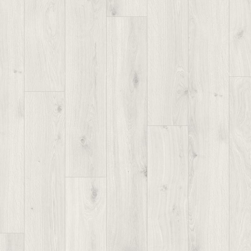 Laminált padló - Basic 400V - Oak crystal-white